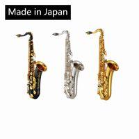 صنع في اليابان 875 تينور شقة ب ساكسفون الذهب ورنيش ساكسفون تينور هبوط هكس الفضة مفاتيح تينور ساكسوني حزمة البريد