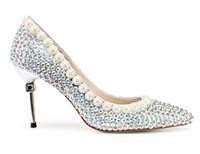 Весенняя мода роскошь Wedding насосы T показать сексуальное серебро красота Пром указал Toe партии вечера для взрослых женщин платьев Леди Свадебной Формальной обуви