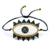 Go2boho ديليكا miyuki أساور عين الشر سوار اليدوية المنسوجة أساور 2019 النساء هدية مجوهرات التركية عين الشر دروبشيبينغ