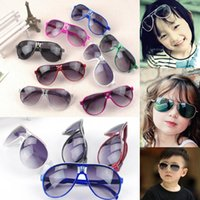 New Arrival Kids Pilot Sunglasses Children Sunglasses PC Fra...