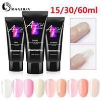 15ml 30ml 60ml Gel Acrilico Gel UV del costruttore UV Led Nails Extensions acrilico Nude Rosa Gel Builder Chiaro