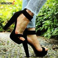2019 Novas Mulheres Sexy Bombas de Moda Sandálias Sapatos de Festa de Salto Alto 16 Cm Peep Toe Sandálias Trançado Tornozelo Anel de Tira No Tornozelo Sandálias