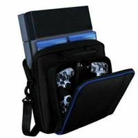 أزياء النساء الرجال حقيبة السفر بلاي ستيشن 4 PS4 ملحقات أجهزة حمل حقائب السفر للجنسين متعدد الوظائف حقيبة محمولة