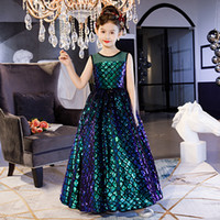 Little Girls Tulle Ball Gowns Girls Pageant Dresses Bow Floo...