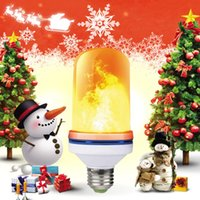 4 mode + gravity sensor flame light E27 LED flame effect fir...