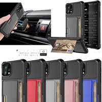 Magnetic Card Leather Phone Case For Iphone XS MAX XR 6 7 8 ...