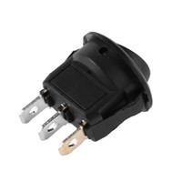 둥근 점 LED 가벼운 로커 떨어져에 20A 12V 3 핀 차 자동 배는 SPST 스위치를 토글합니다