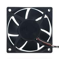 ADDA AD07012DB257300 için toptan Yeni Orijinal 12 V 0.30A 7025 7 CM çift rulman soğutma fanı soğutma fanı