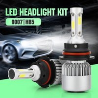 COB Chip Car LED 60W 6000LM Headlight Bulbs H1 H3 H4 H7 H1 8...