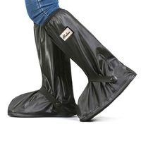 FY4021 zapatos Cubiertas Chanclo Botas cubierta impermeable Relectors botas de lluvia Negro reutilizable mujeres de los hombres de la bici All Seasons