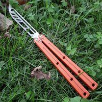 balisong monstruo marino Kraken G10 cuchillo entrenador no trainning colección cuchillo afilado cuchillo plegable jilt sistema de casquillo de Navidad de regalo