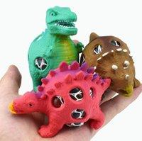 Descompressão Ventilação Dinossauro Dinossauro Esqueceira Esfera Relevo Esquecer Mão Mão Exercício Exercício Relaxamento Brinquedo Esprema Bolas Para Crianças Adultos Party Presente