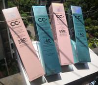 سعر المصنع الوجه ماكياج CC كريم البشرة الخاصة بك ولكن أفضل CC + كريم النفط الحرة ماتي و CC + التغطية الكاملة كريم ترطيب مصل المصل 32 ملليلتر