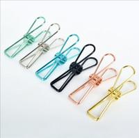 Mini Binder métal Retro Binder poisson Bloc-notes Diy dossier de signets 55 * 20 * 12mm Fournitures de bureau DHL gratuit