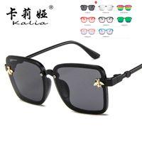Sonnenbrille Übergroße Quadratische Kinderdesigner Kinder Sonnenbrille Jungen Mädchen im Freien Reise UV400 Eyewear