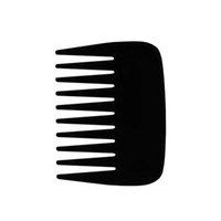 Новый 1 шт Карманный Пластиковые Comb Сверхширокий Зуб Combs Борода Comb Малый Щетка для волос для укладки волос Инструмент