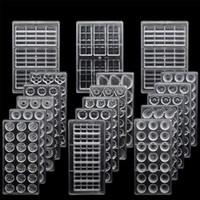 Polycarbonat Schokoladen-Formen 3D-Praline-Stangen-Form-Behälter Polycarbonat-Kunststoff-Formular Blumen Backen Gebäck der Bäckerei-Werkzeuge