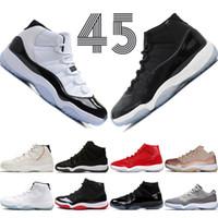 Yüksek Concord 45 11 11 s Kap ve Kıyafeti PRM Heiress Salonu Kırmızı Chicago Platin Tonu Uzay Reçelleri En İyi Erkek Basketbol Ayakkabıları spor Sneakers 5.5-13 # 1