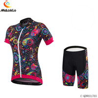 Malciklo Kadınlar bisikletçiler giyim roupa ciclismo maillot bisiklet forması Lady MTB önlükler pantolon spor suit özel
