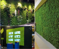 10 квадратных метров искусственный зеленый мох трава коврик растения искусственные газоны Дерн ковры для сада украшения дома партии
