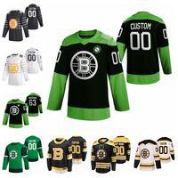 Boston Bruins Jerseys Matt Grzelcyk Jersey Torey Krug Jeremy Lauzon Charlie McAvoy Jerseys 2020 New Hockey Mens Luta nCoV personalizado costurado