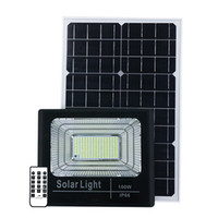 JD Updated Version Outdoor Solar LED Flood Light Waterproof ...