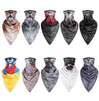 3D Animal Print máscaras frescas para hombres mujeres Motocicleta bicicleta ciclismo media mascarilla bufanda deporte al aire libre senderismo máscaras de paintball