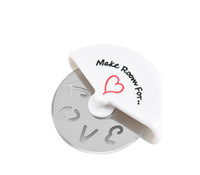 A Slice of Love Pizza Cutter in Miniature Pizza Box Favors W...