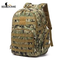 Large Capacity Tactical Rucksack Water Repellent Backpack Ou...