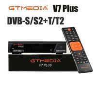 Hot DVB-S2 / T2 GTMedia V7S HD Спутниковый приемник FTA 1080P Супер декодер для Испании TV Box Рецептор YouTube GT Media Freesat V7 Plus Cccam
