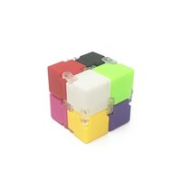 Novelty Plastic Infinite Cube Colorful Puzzle Cube Adult Ant...