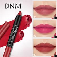 DNM Velvet Mist Matte Stain Lipstick Pen 19 Colors Waterproof Long Lasting Cosmetics Lip Gloss Colorfast Lip Stick Pencil Lips