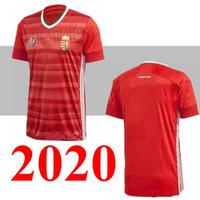 2020 Hongrie Soccer Jersey Accueil Rouge 20 21 Dominik Szoboszlai Willi Orban Tamás Kádár Chemises de football Top Thaïlande