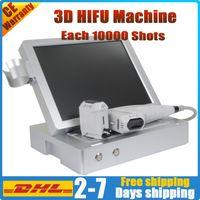 портативный корпус фейслифтинг удаления морщин 3D HIFU машина лепка лицо по уходу за кожей тела снижения похудения HIFU машина машина жира