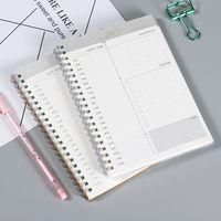 Manuel Zaman Planlama Dizüstü Bilgisayar Gündemi Dergisi Günlük Hafta Aylık Planlayıcısı 32K Kraft Kağıt Kapak İş Verimliliği Haftalık ve Aylık Kitap