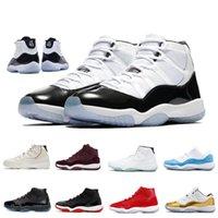 2019 Yeni En Iyi Jumpman XI 11 Basketbol Ayakkabıları Mens 45 23 11 s Altın / Şampiyonası MVP Finalleri eğitim Sneakers Spor Koşu Ayakkabıları Boyutu 40-46