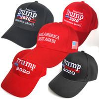 11 estilos Donald Trump 2020 Gorra de béisbol Haga que Estados Unidos vuelva a ser grande Bordado de sombrero Mantenga a Estados Unidos Gran sombrero Presidente Trump Caps ZZA974
