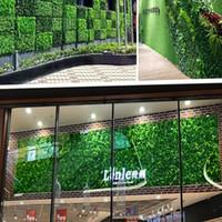 40x60 سنتيمتر العشب حصيرة الخضراء العشب الاصطناعي النباتية المشهد السجاد للمنزل حديقة الجدار الديكور وهمية العشب حفل زفاف العرض