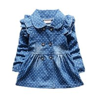 2019 New Fashion Brand Hot Sale Dress Girls Soft Cotton Baby...