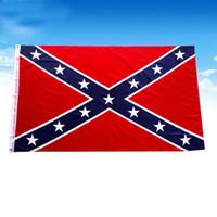 3x5 ft İç Savaşı Ordu Bayrağı Amerikan Seçim Bayrakları Polyester Uçan Afiş Bayrak Dekorasyon 90 * 150 cm HH9-2411