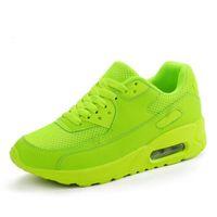 Zapatillas de deporte de las mujeres zapatos de marca de malla transpirable de verano para mujer negra verde rojo tenis feminino mujer zapato canasta femme