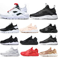2019 Huarache 4. 0 1. 0 Running Shoes Mens Womens triple White...