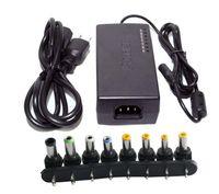 96W Universal Notebook Power Adapter 12V-24V AC Notebook-Ladegerät Power Adapter mit 8 Anschlüssen mit EU UK AU US-Stecker Optional