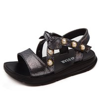 Girls Sandals Kids Children Summer Children Leather Sandal s...