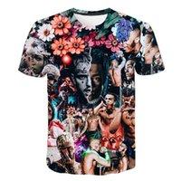 Raper XXXTENTAcion 3D Drukuj T Shirt Lato Mężczyźni Kobiety Harajuku Koszulka Fortniter Chłopcy Tshirt Nastolatek Hip Hop Tee Krótki rękaw