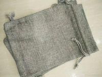 Grigio 7x9cm 9x12cm 10x15cm 13x12cm Mini sacchetto di juta del sacchetto della giace della biancheria dei gioielli della canapa del regalo del regalo della tavola per bomboniere, perline