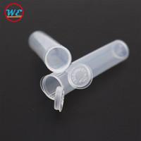 Embalaje de cartuchos de Vape Cartuchos a prueba de niños Empaquetado de tubos transparentes 92a3 Tubo de plástico vacío de Ecig para el tanque de aceite del atomizador sin DHL