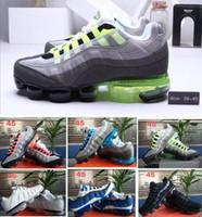 2020 Hombres 95s OG Cojín Armada de deporte de alta calidad 95s Chaussure botas de montaña zapatos corrientes del amortiguador 95S zapatillas de deporte Tamaño 36-45