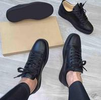 패션 남성 여성 레드 바닥 신발 박힌 스파이크 플랫 스니커즈 반짝이 파티 웨딩 슈즈 블랙 화이트 가죽 트레이너 EU47