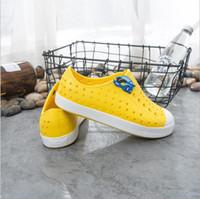 Vendita calda-Teen Native Shoes Jefferson foro di marca delle ragazze dei ragazzi dei nativi bambini Pantofole Formato dei pattini 28-44